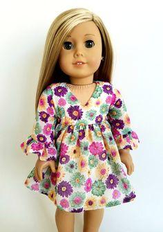 Chiffon Floral Swing Dress