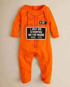 home made, Baby Onesies Infant  Boy gag Girl Custom Made  Worlds Most Expensive Alarm Clock humorous joking months funny