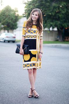 Merricks Art: MOD SHIFT DRESS (TUTORIAL) ~ http://www.elleapparelblog.com/2013/07/the-day-date-dress-tutorial.html?m=0