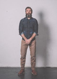 • BASED ON A TRUE STORY • THE SS14 COLLECTION Pant. Cod. HILO M0127.508.XS / CHINO LOOSE CANVAS STRETCH  www.uniformjeans.it/