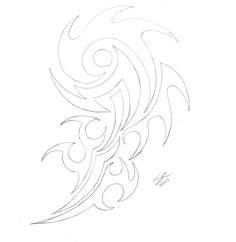 0f9282de43ce5 tribal arm tattoo design by frau kruspe designs interfaces tattoo ... Tribal  Arm Tattoos