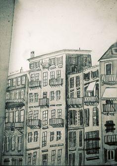 buildings...artist unknown