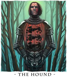 The Hound - A song of Ice and by BarryKeegan, via deviantart