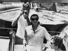 Benno Graziani, Jackie Kennedy and Benno Graziani