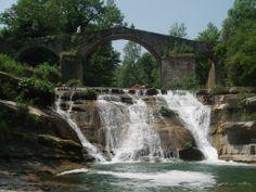il Ponte della Brusia a Bocconi.