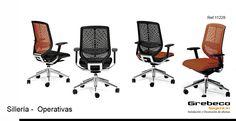 Grebeco mobiliario de oficina Catálogo Sillas Giratorias - Grebeco Sillas de oficina Granada