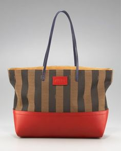 obsessed with this for spring | Fendi Tobacco Tote | buyaHandbag