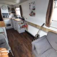 Riga - Great Haywood Boat Sales Solid Wood Worktops, Boat Sales, Shower Over Bath, Narrow Boat, Vanity Basin, Central Heating, Riga, Boats For Sale