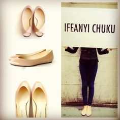 What's on your feet?! Try our nude flats for a flat shoe that's high on style!