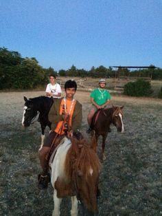 Scouts in horsetrekkings