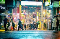 "14.1 k mentions J'aime, 42 commentaires - Harajuku Japan (@tokyofashion) sur Instagram: ""Rainy night in Harajuku tonight."""