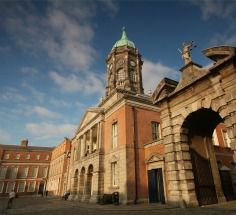 Dublin Castle is the heart of historic Dublin. In fact the city gets its name from the Black Pool -