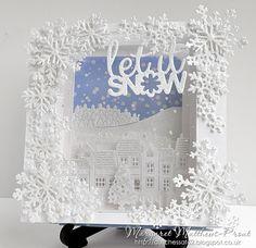 "dutchess: Christmas card club challenge 15....Christine's choice ""let it snow"""