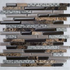 Aliexpress.com : Buy Metal Tile Backsplash Kitchen Design Colors Crystal GlassStone Blend Mosaic  Marble flower Wall Stickers Bathroom Floor plated from Reliable pool tile suppliers on BMT Mosaic Factory $22.84