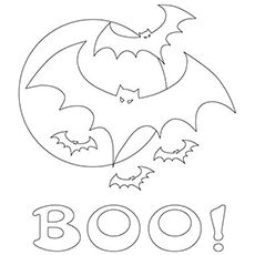 The Boo Says the Bat