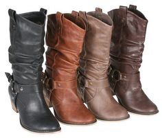 Womens Western Style Cowboy Boots, slouchy western boots