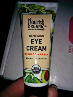 Nourish organic-  renewing avocado Argan eye cream (normal - dry skin)