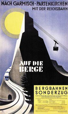 Ehlers Henry Garmisch-Partenkirchen mit der Reichsbahn Bergbahnen Sonderzug Jahr: ca.1930