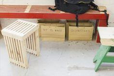 DIY Pallet Stools | Pallets Furniture Designs