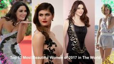 Top 10 Most Beautiful Women of 2017 in The world #1