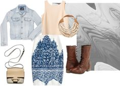 Having the blues, created by alexa104 on Polyvore