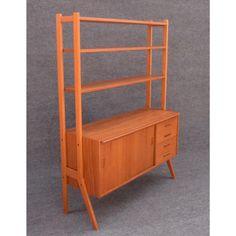 538f4c50e3601 Vintage Mid Century Danish Modern Teak and Oak Bookshelf — Aymerick Modern