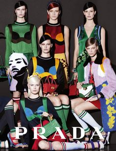 The Essentialist - Fashion Advertising Updated Daily: Prada Ad Campaign Spring/Summer 2014