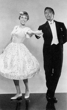 Julie Andrews (Maria) and Christopher Plummer (Captain Von Trapp) - The Sound of Music directed by Robert Wise (1965)