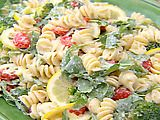Lemon Fusilli with Arugula Recipe