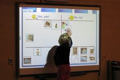 caring for books SMARTboard sort activity idea. I always need more book care lessons!