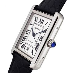 Cartier Tank Solo Extra Large Mens Watch | Luxify | Luxury Within Reach