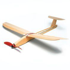 Gleitflieger-Bausatz Holz - Manufactum