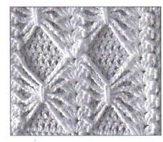 Free Crochet Pattern ~ Bow Ties Square  | followpics.co