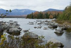 Baxter State Park   between Acadia and Quebec  25 of Maine's most beautiful places  