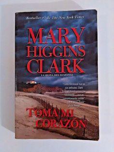 Toma Mi Corazon Mary Higgins Clark Paperback Spanish #VintageBooksUSA