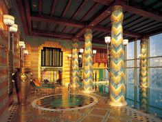 ドバイの七つ星ホテル