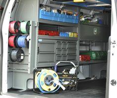 Work van storage