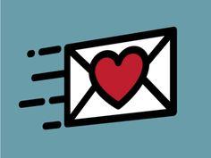 Flying Love Letter Emoji