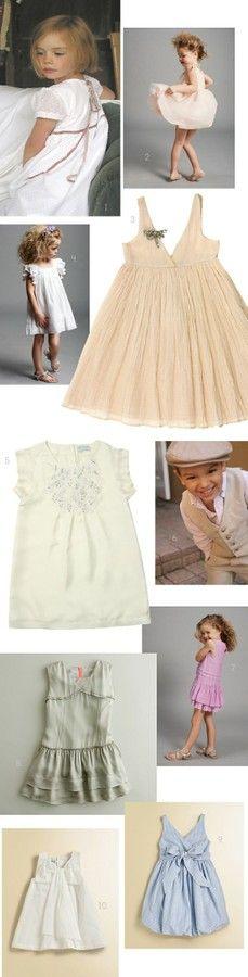 little girl dresses wedding