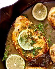 Cilantro Lime Pork Chops