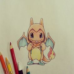 Charmander reppin a Charizard onsie by itsbirdy
