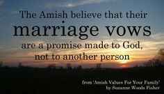 Marriage may be made in heaven, but man is responsible for the upkeep. #AmishProverb