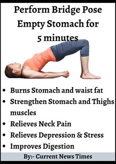 A complete Guide on Bridge Pose 2020 – Current News Times Health And Fitness Articles, Fitness Tips, Health Fitness, Health Tips, Fitness Workout For Women, Yoga Fitness, Yoga Facts, Exercise Facts, Yoga For Weight Loss