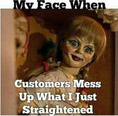 Well...that girl/doll thing is totally creepy, but what it says is so true!!