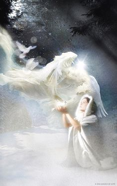 Angel Painting - Angel Of Peace by Angels of Love Guardian Angel Pictures, Angel Images, Guardian Angels, Photomontage, Beautiful Angels Pictures, Angel Wallpaper, Angel Drawing, Angel Aesthetic, Angels Among Us
