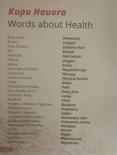 Maori Songs, Health Words, Maori Designs, Classroom Environment, Childhood Education, Self Improvement, Teaching Resources, Language, Learning