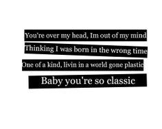 They don't make you like they used to; you're never going out of style ♥ ~ Classic - MKTO