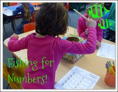Mrs. Byrd's Learning Tree: Fishing for Numbers! Addition and Subtraction Center Fun!