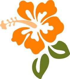 Hibiscus clip art - vector clip art online, royalty free & public ...