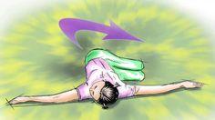 Yoga - Movimento del Coccodrillo
